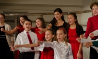 GCC performs with the LIFE Youth Choir